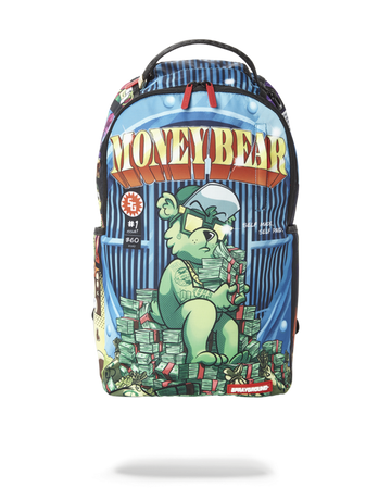 SPRAYGROUND MONEY BEAR: THE MONEY SHOT BACKPACK B2933