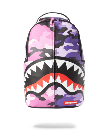 SPRAYGROUND SPLIT CAMO BACKPACK  B3002