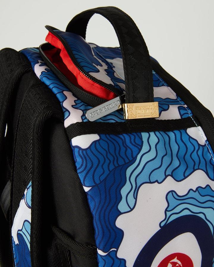 SPRAYGROUND THE SHARK WAVE (MADE FROM 100% RECYCLED PLASTIC BOTTLES FROM THE OCEAN) B3193