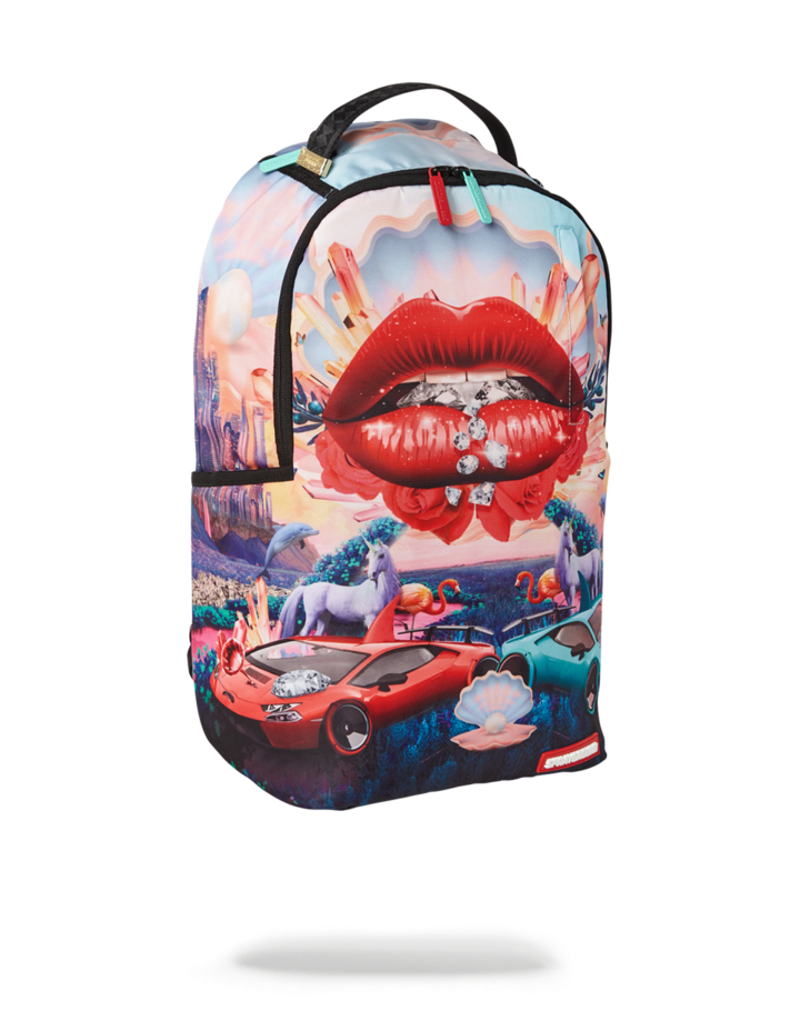 LIPS AND FAMOUS BACKPACK