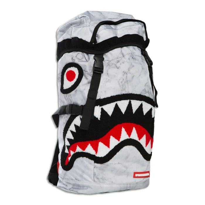 SPRAYGROUND WHITE MARBLE TOP LOADER