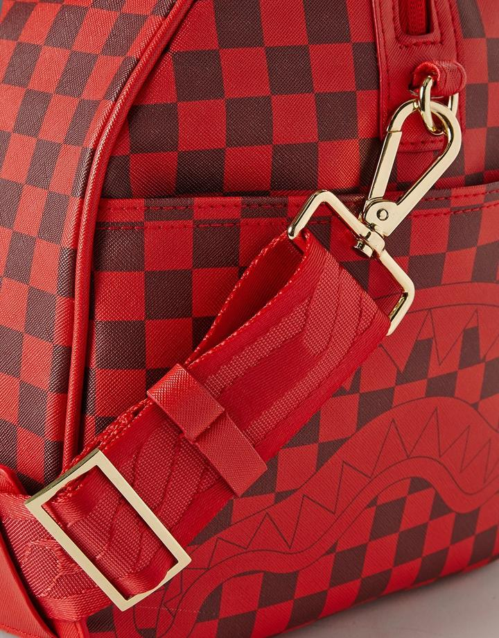 Sharks In Paris Duffle (Red Checkered Edition)