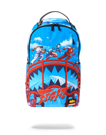 SPRAYGROUND STREET FIGHTER: ON THE RUN BACKPACK b2386