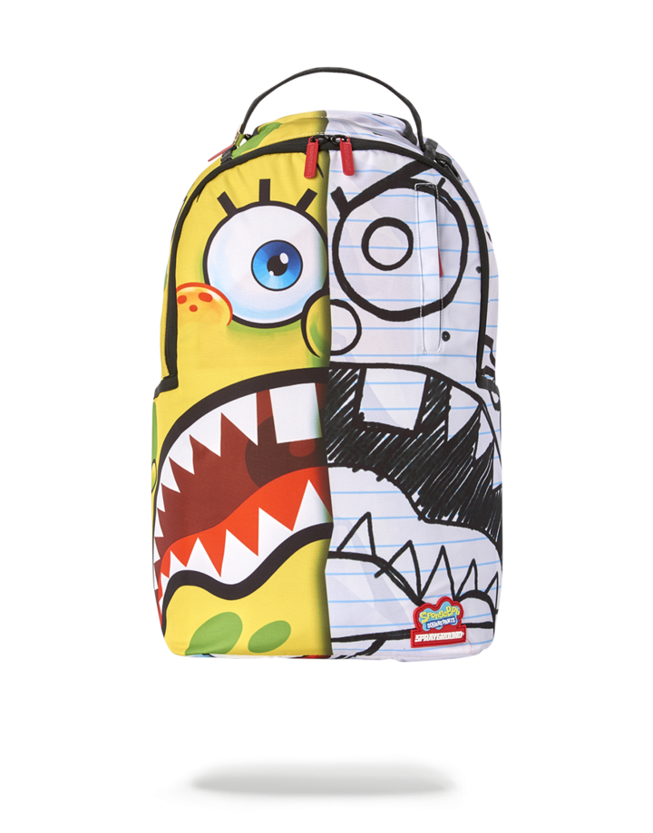 SPRAYGROUND SPONGDOODLE BOB BACKPACK B3098