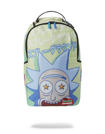 SPRAYGROUND RICK AND MORTY LOOK AT ME BACKPACK b3209