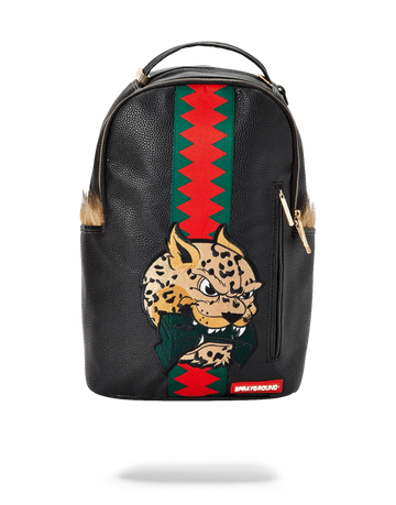 Sprayground Leopard Fur Money