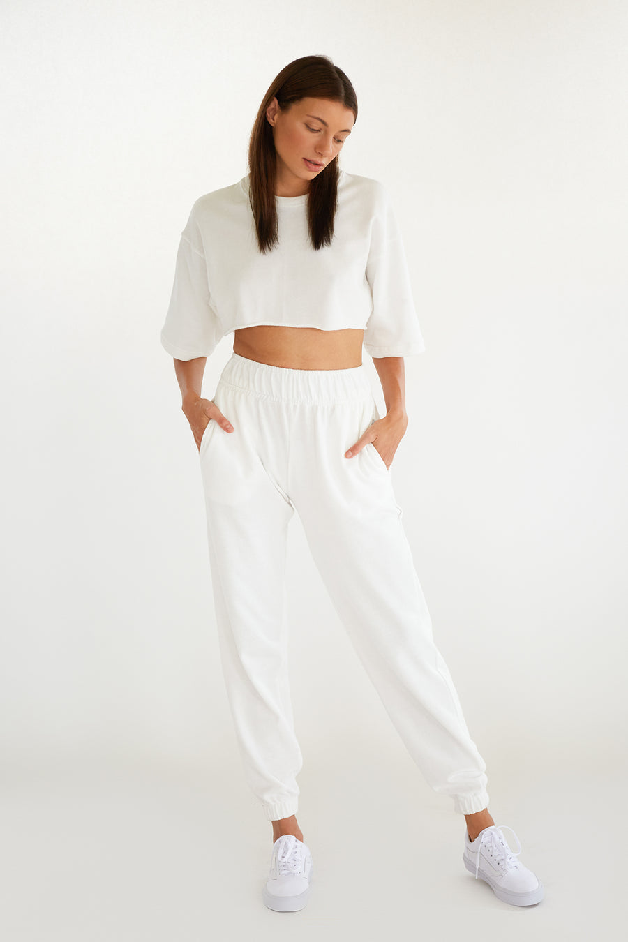 BABY TERRY TRACK PANT