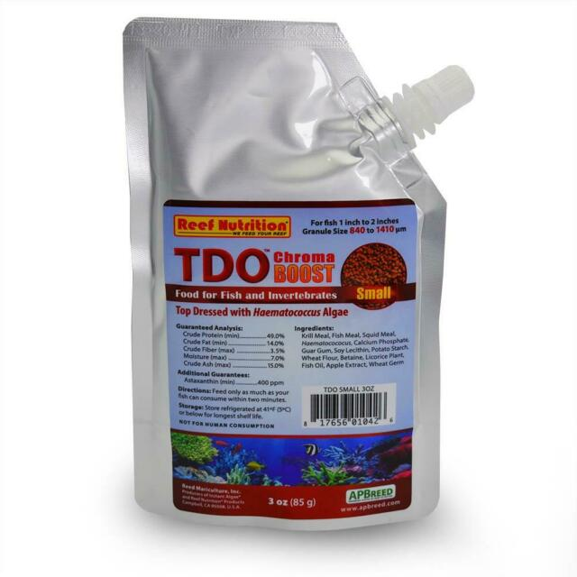 Reef Nutrition TDO Chroma Boost