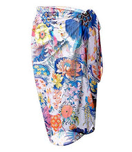 Load image into Gallery viewer, LIENRIDY Women's Sarong Swimsuit Cover Up Summer Beach Wrap Skirt Swimwear Bikini Cover-ups