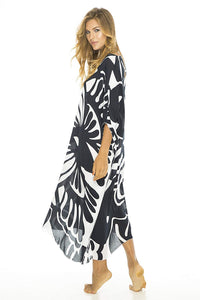 Back From Bali Womens Loose Maxi Long Beach Dress Cover Up