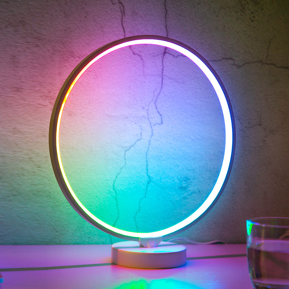aurora circle mood lamp