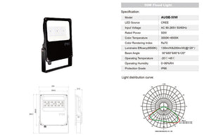 50w auge flood light