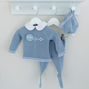 FRANCIS - Juliana Blue Knitted 3 Piece Set