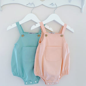 MARLEY - Babidu Romper in Green or Peach