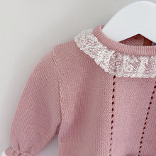 Load image into Gallery viewer, ISLA - Sardon Dusky Pink Knitted