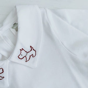 SCOTTIE - White Minhon Dog Vest