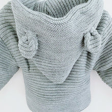Load image into Gallery viewer, TEDDY - Minhon Knitted Teddy Jacket