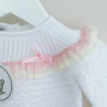 Load image into Gallery viewer, CATHERINE - Nico Dingo White Knitted Set