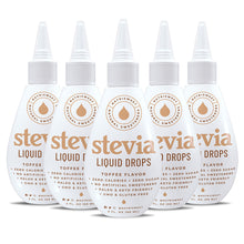 Load image into Gallery viewer, Toffee Stevia Liquid Drops