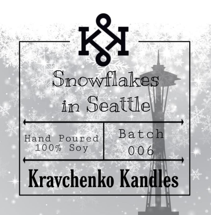 Snowflakes in Seattle