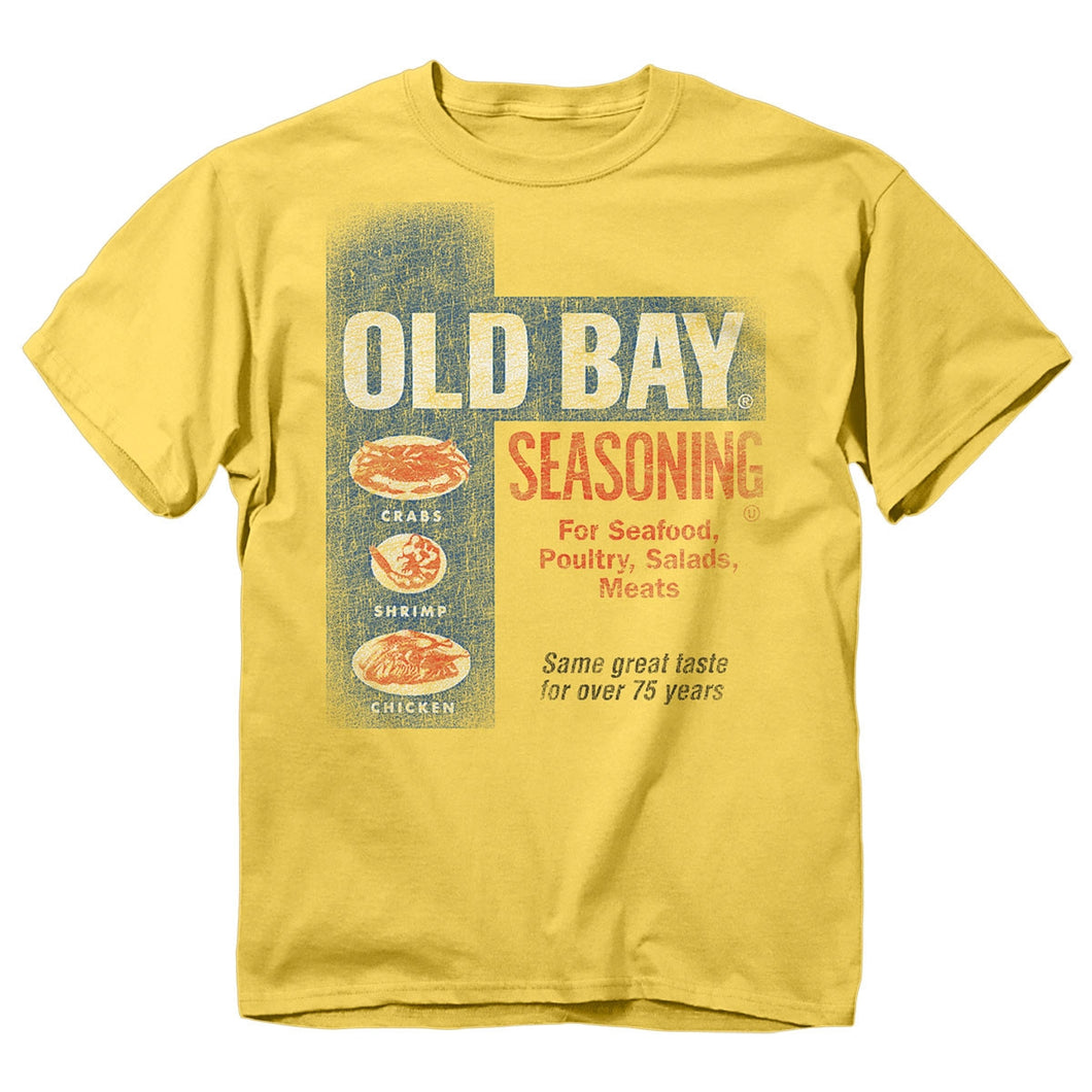 OLD BAY® Washed Can Art T-Shirt
