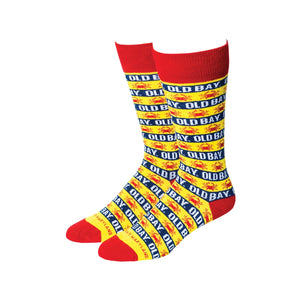 Old Bay Stripes Dress Socks