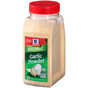 McCormick Organic Garlic Powder, 16.75 oz