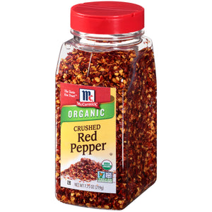 McCormick® Organic Crushed Red Pepper, 7.75 oz