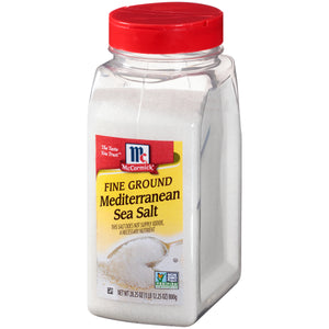 McCormick Fine Ground Mediterranean Sea Salt, 28.25 oz