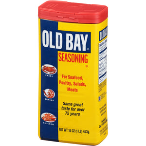 OLD BAY® One Pound Can Seafood Seasoning, 16 oz