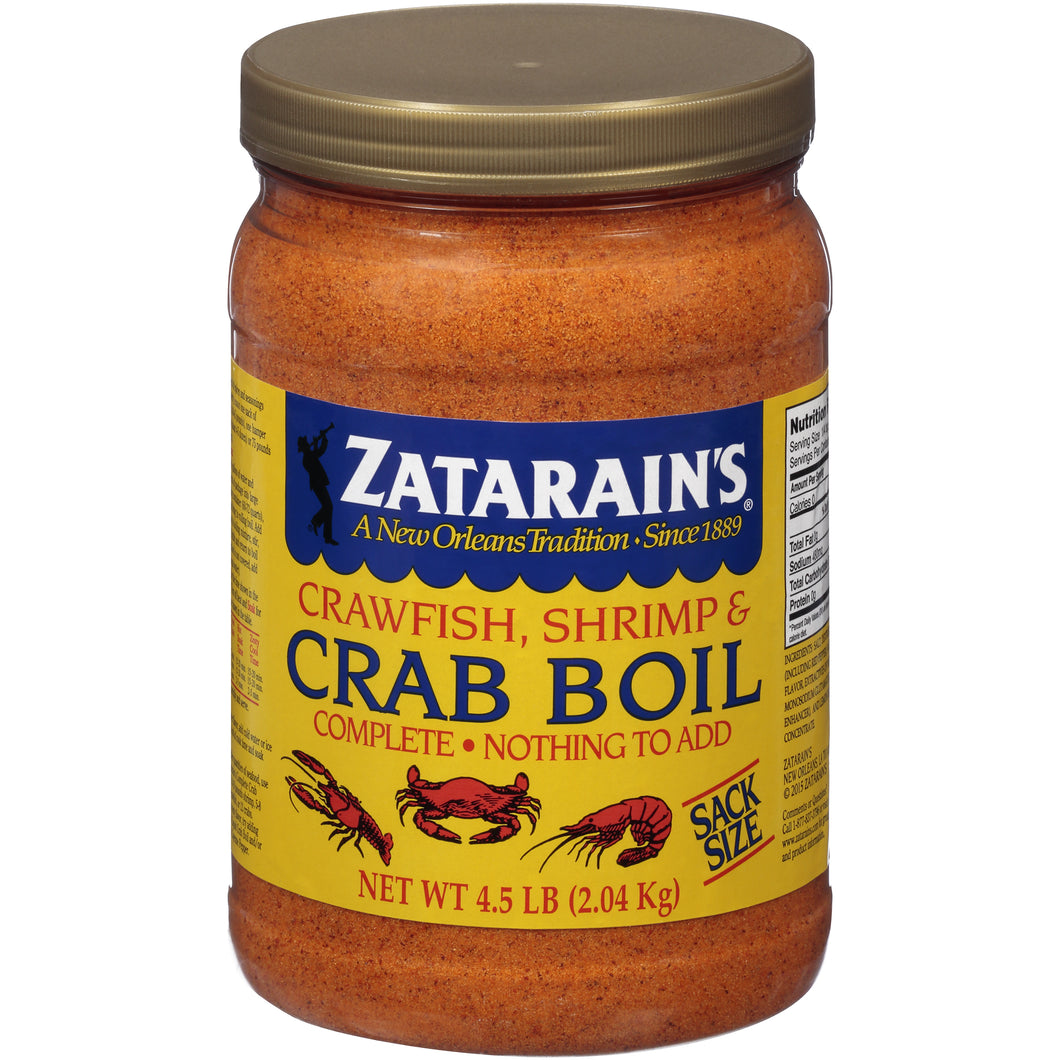 Zatarain's Crawfish, Shrimp & Crab Boil, 73 oz