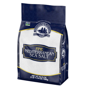 Drogheria & Alimentari Fine Ground Mediterranean Sea Salt, 43.74 oz