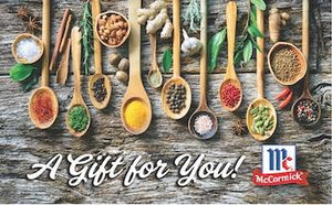 McCormick Shop Gift Card