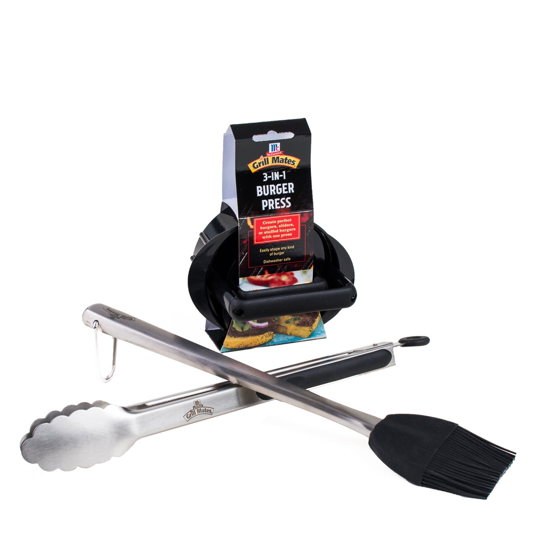 McCormick Grill Mates 3-Piece Barbecue Tool Set