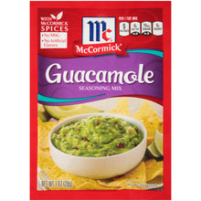 Load image into Gallery viewer, McCormick Guacamole Seasoning Mix, 1 oz (12-Pack)
