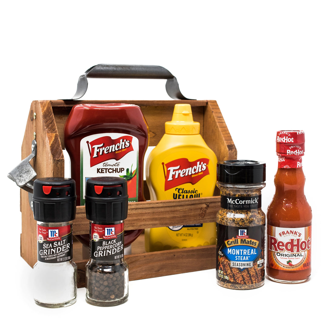 Grab and Go Grilling Condiment Caddy