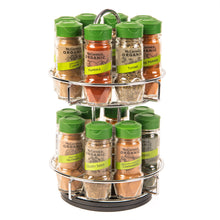 Load image into Gallery viewer, McCormick Gourmet™ Chrome Organic 16 Herbs & Spices Rack