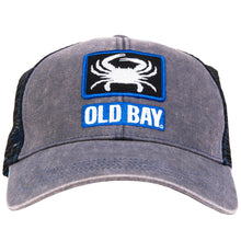 Load image into Gallery viewer, OLD BAY® Crab Blue Box Hat