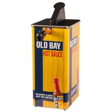 Load image into Gallery viewer, OLD BAY® Hot Sauce Dispenser & 2-Pack of 1.5 Gallon Pouches