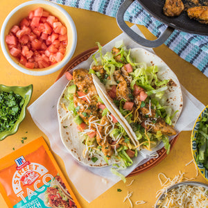 Street Taco Night - Carne Asada, Baja Fish, Southwest Ranch Chicken