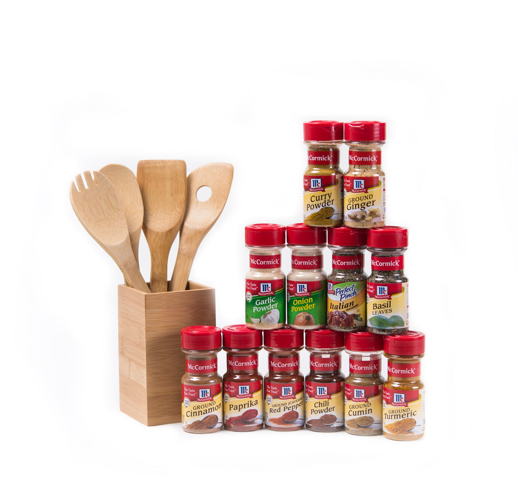 McCormick® Flavorful Favorites 12-Herb & Spice Starter Set