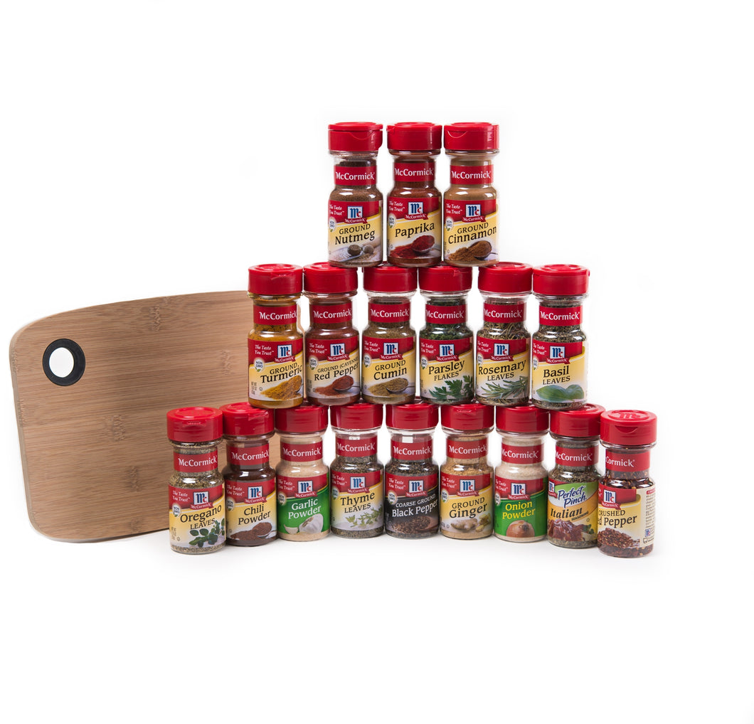 McCormick® Sweet and Savory Deluxe 18-Herbs & Spices Starter Set