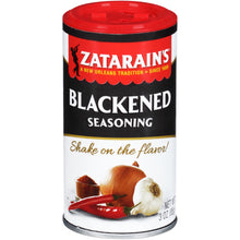 Load image into Gallery viewer, Zatarain's New Orleans Style Blackened Seasoning, 3 oz (2-Pack)