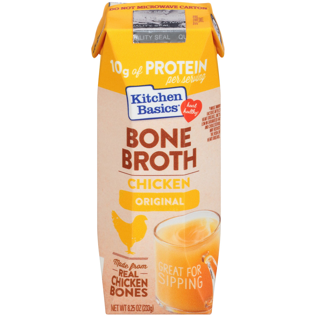 Kitchen Basics Original Chicken Bone Broth, 8.25 oz (12-Pack)