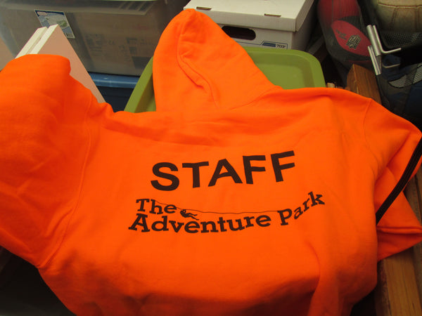 Staff Uniform Hoodie - Orange