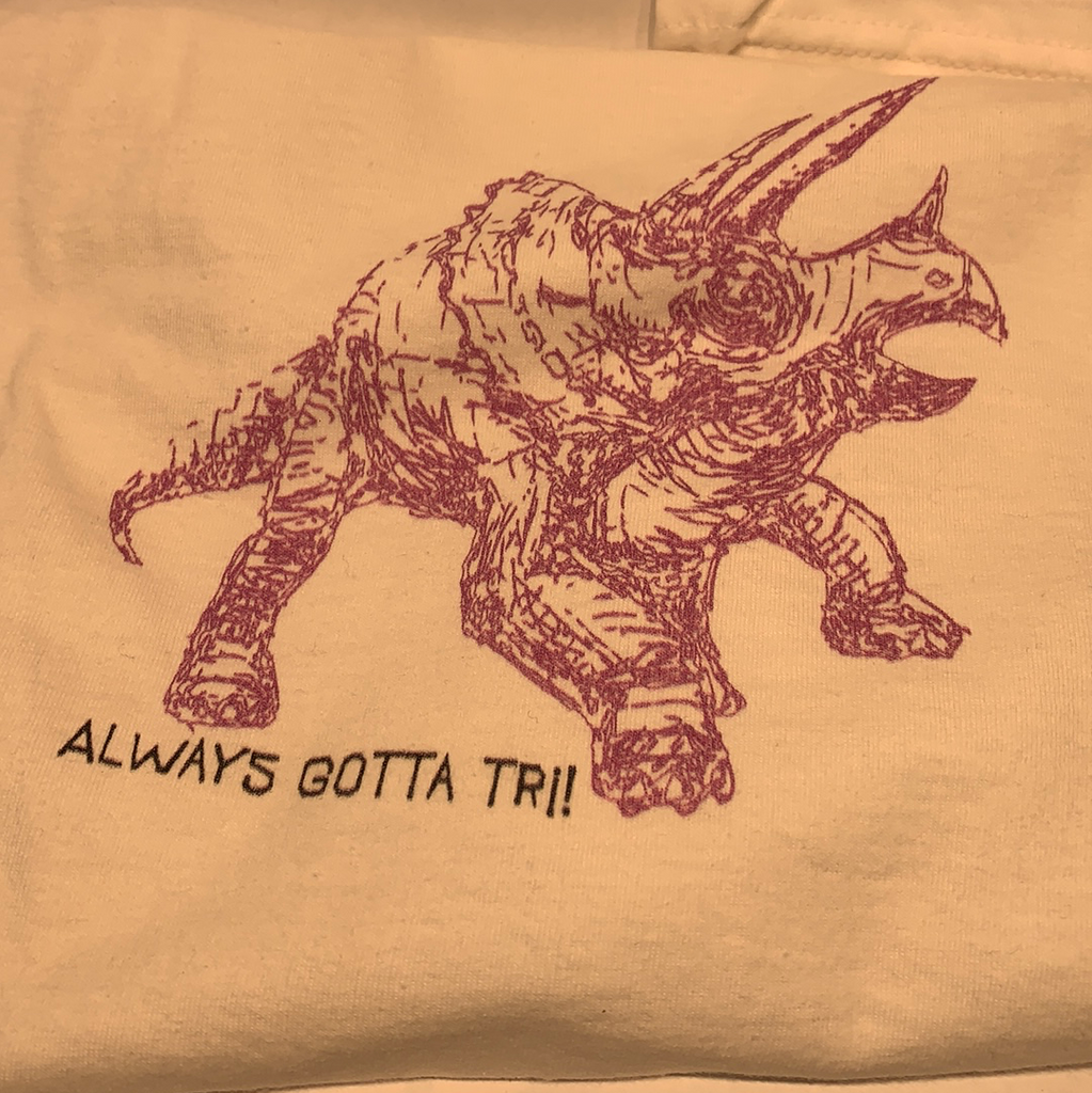 """Always Gotta Tri"" Kids T-Shirt"