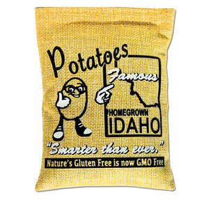 Mini Decorative Sack - (Idaho potato graphic)