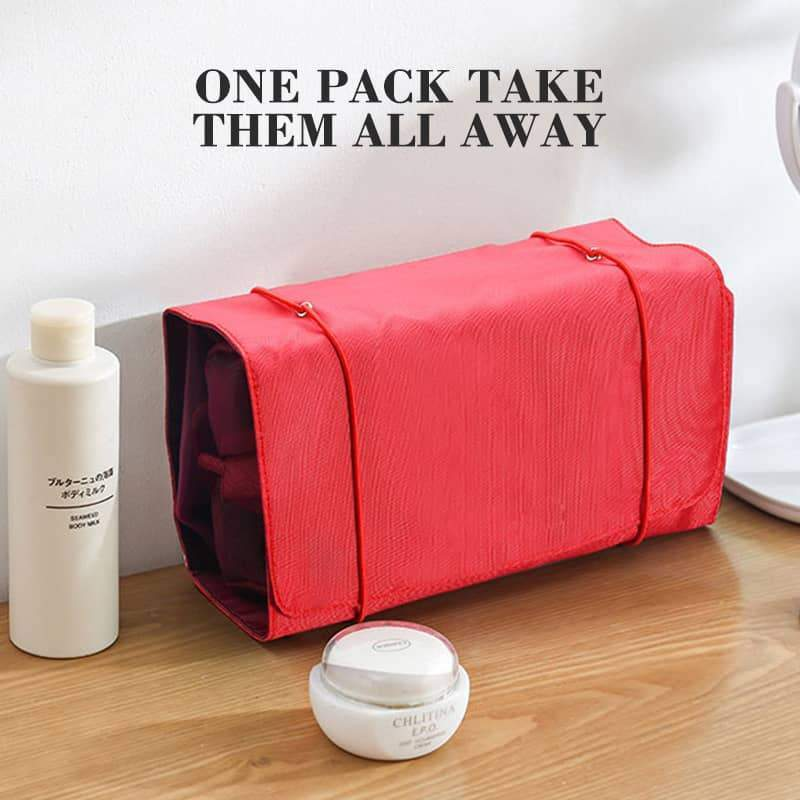 (50% OFF)Portable Folding Travel Toiletry Bag