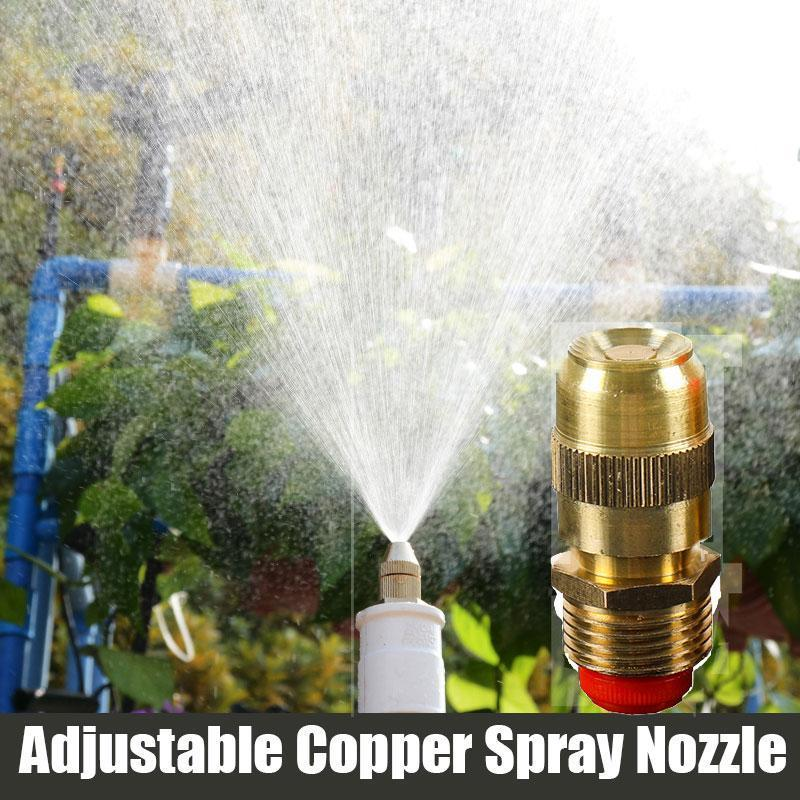 Adjustable Copper Spray Nozzle