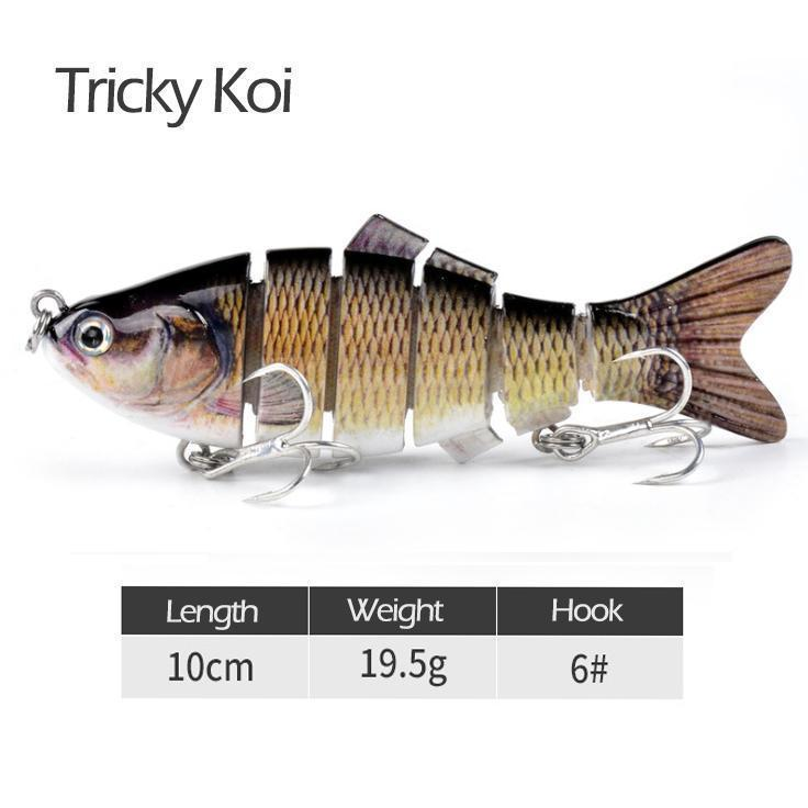Realistic fish lure